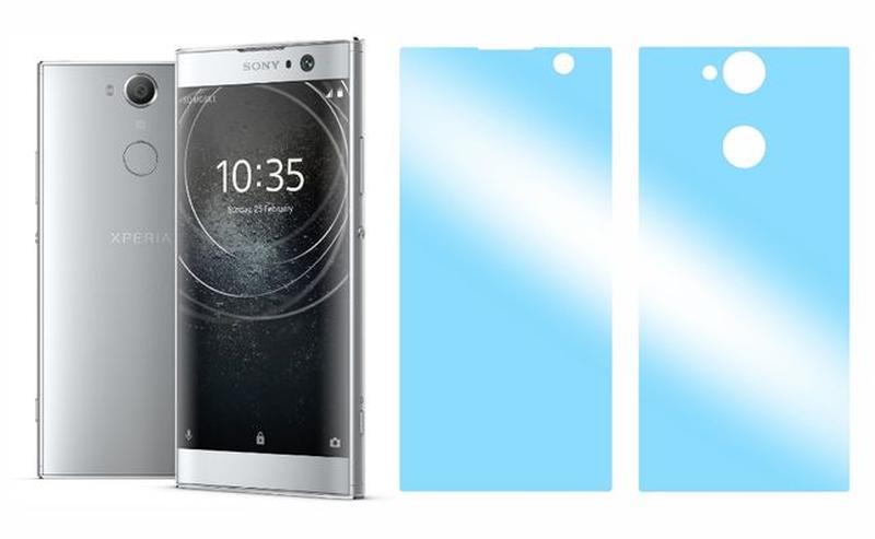 Комплект БРОНЕ плівок Sony Xperia XA2 XA1 Ultra Plus 10 пленка... - Фото 4