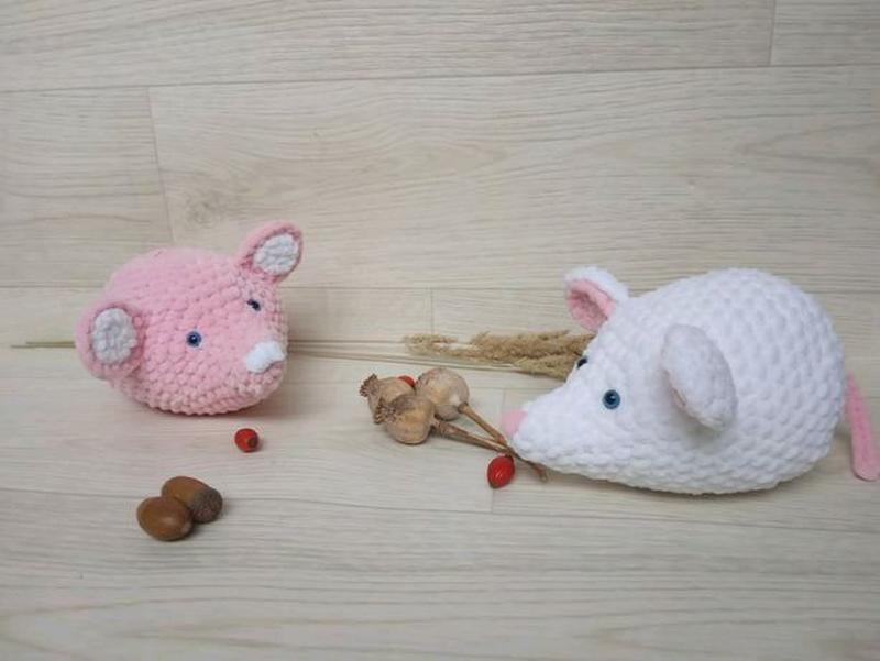 Плюшевые мышата