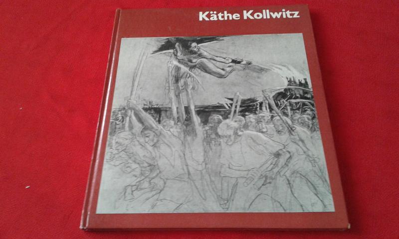 Альбом по искусству Kathe Kollwitz на немецком языке.1980 год