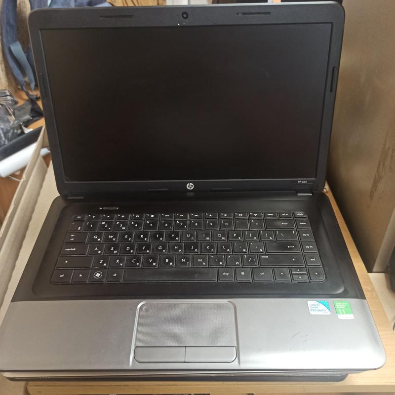 Ноутбук HP650 новый аккумулятор