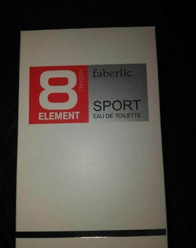 Туалетная вода для мужчин 8 element sport. акция. - Фото 3