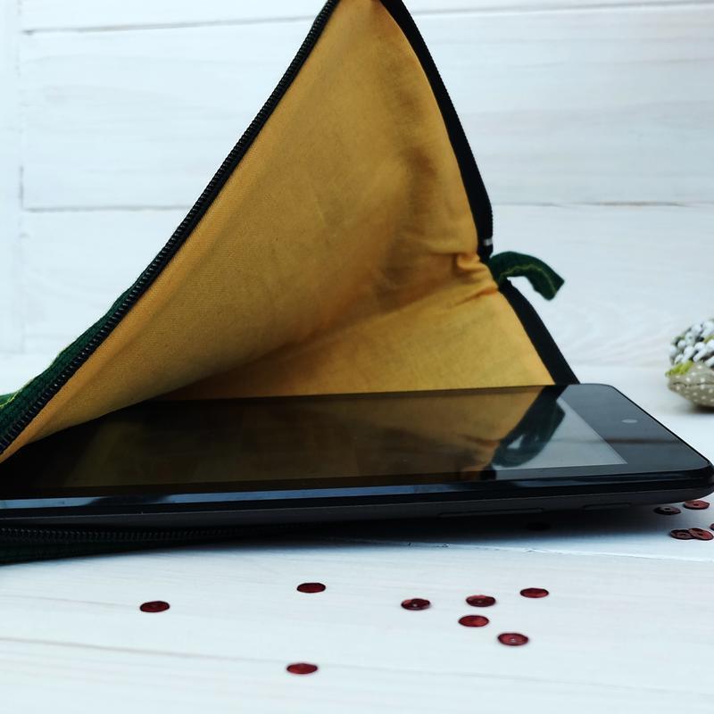 Чехол для платшета, текстильная папка-органайзер для документов 1 - Фото 3