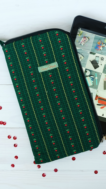 Чехол для платшета, текстильная папка-органайзер для документов 1 - Фото 5