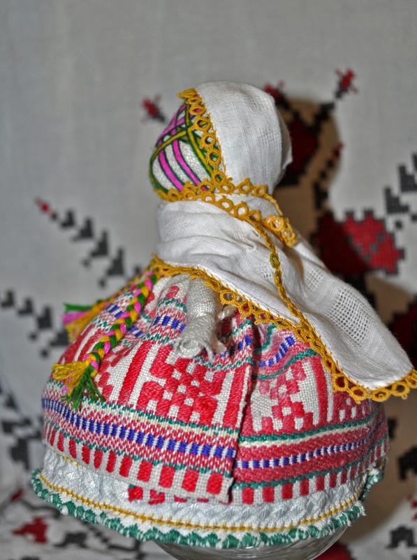 "Автентична лялька-мотанка ""Берегиня"". - Фото 3"