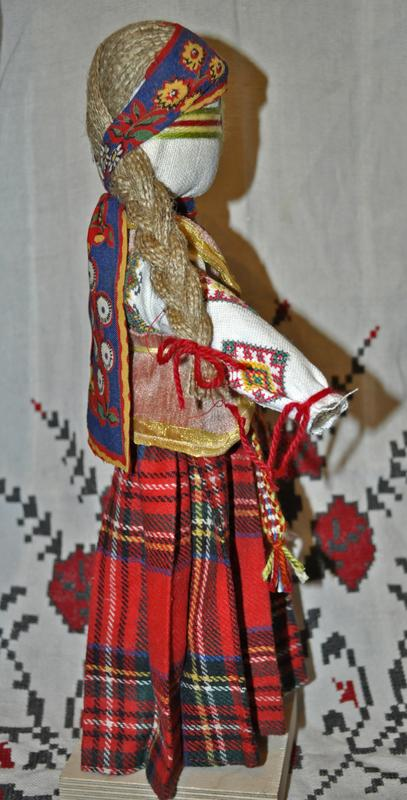 "Автентична лялька-мотанка. ""Коляда"" - Фото 2"
