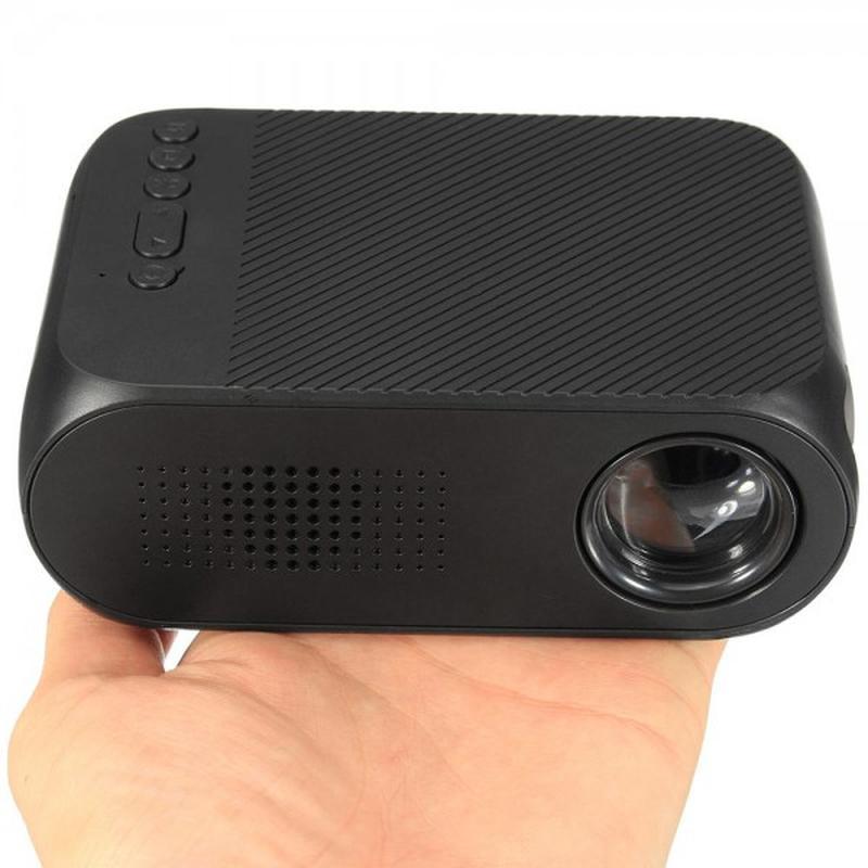 Мини проектор портативный мультимедийный Led Projector YG320 - Фото 2