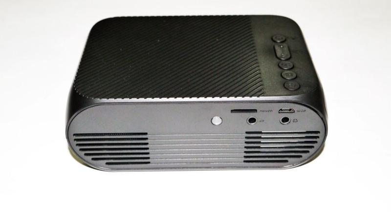Мини проектор портативный мультимедийный Led Projector YG320 - Фото 3