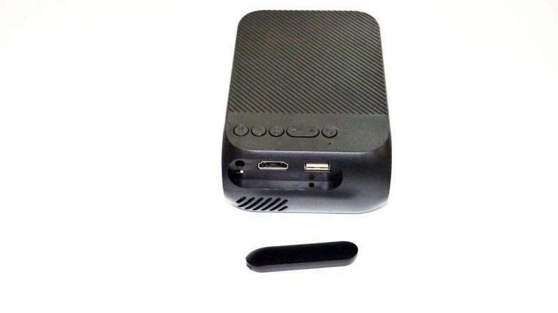 Мини проектор портативный мультимедийный Led Projector YG320 - Фото 4