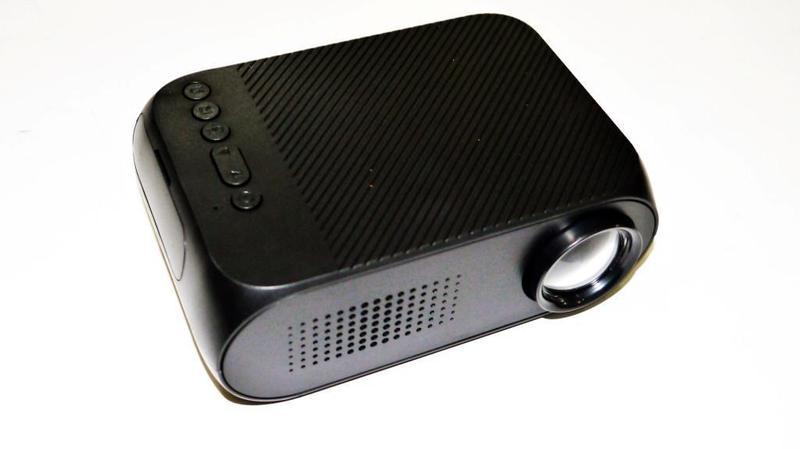Мини проектор портативный мультимедийный Led Projector YG320 - Фото 5