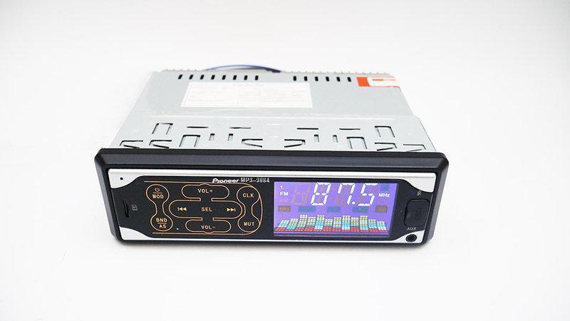 Автомагнитола Pioneer 3884 ISO MP3, FM, USB, SD, AUX сенсор