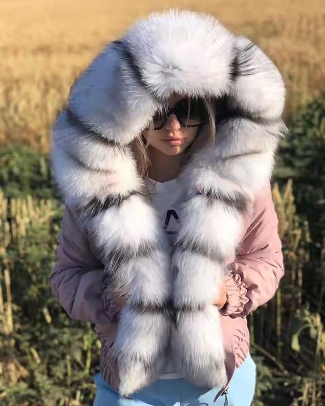Женская куртка бомбер - Фото 2
