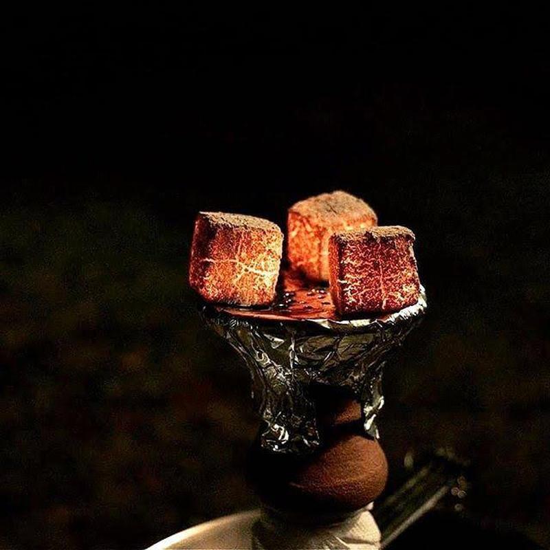 Ореховый уголь для кальяна 100% натуральный!