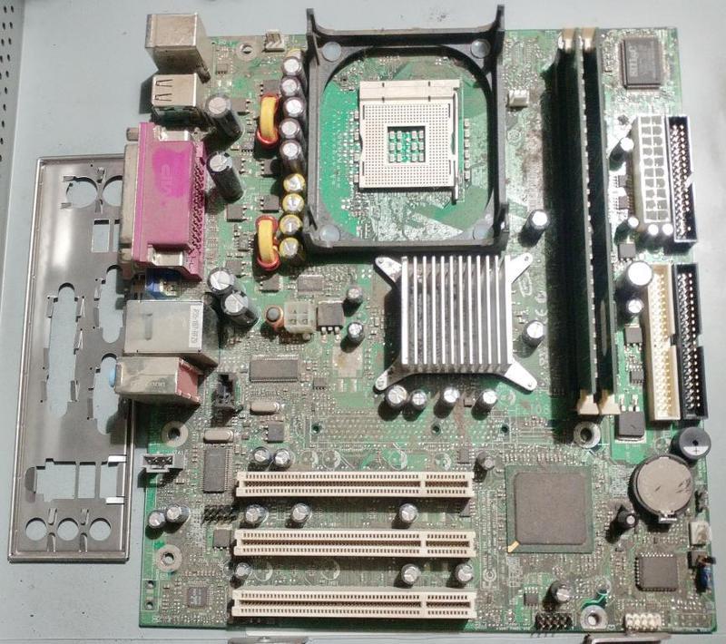 Рабочая материнская плата сокет 478 Intel D845GVSR