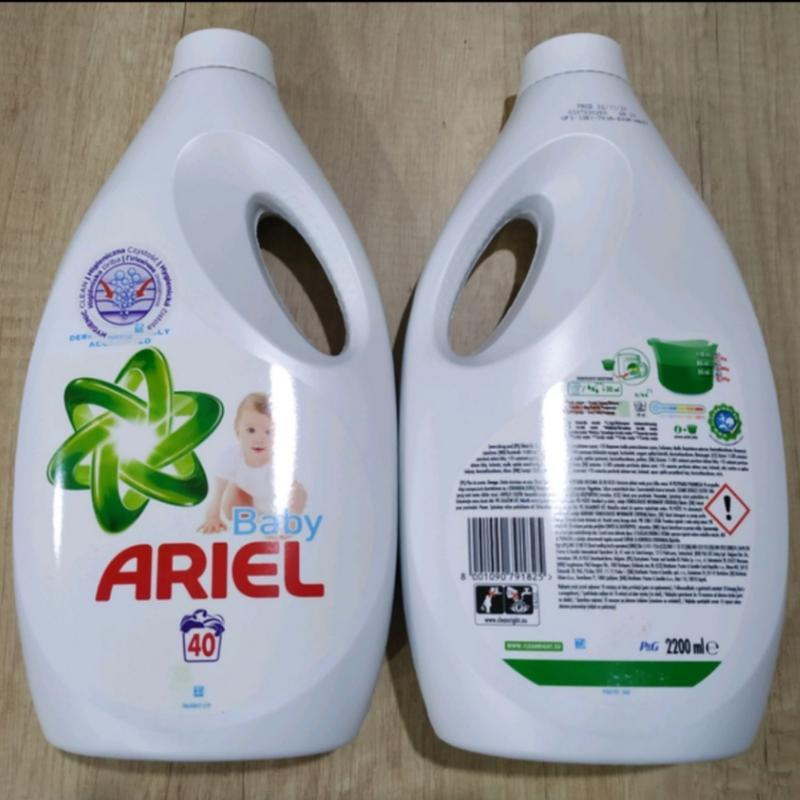 Безфосфатний ariel (детский) 2200 ml, концентрат на 40 циклов.