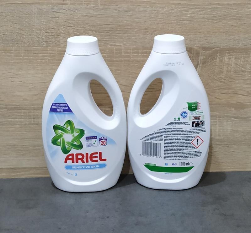 Безфосфатный гель ariel sensetive skin 1100 ml, концентрат, ро...