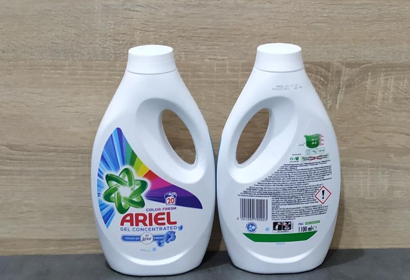 Ariel color lenor 1100 ml, концентрат.