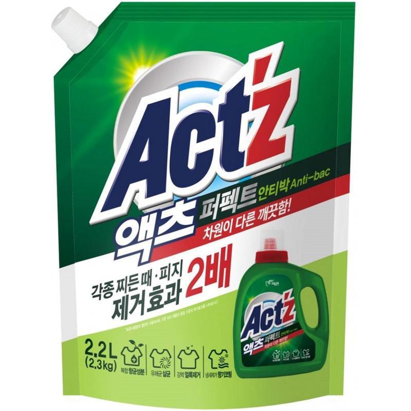 Корейський гель для прання універсальний pigeon act z anti bac...