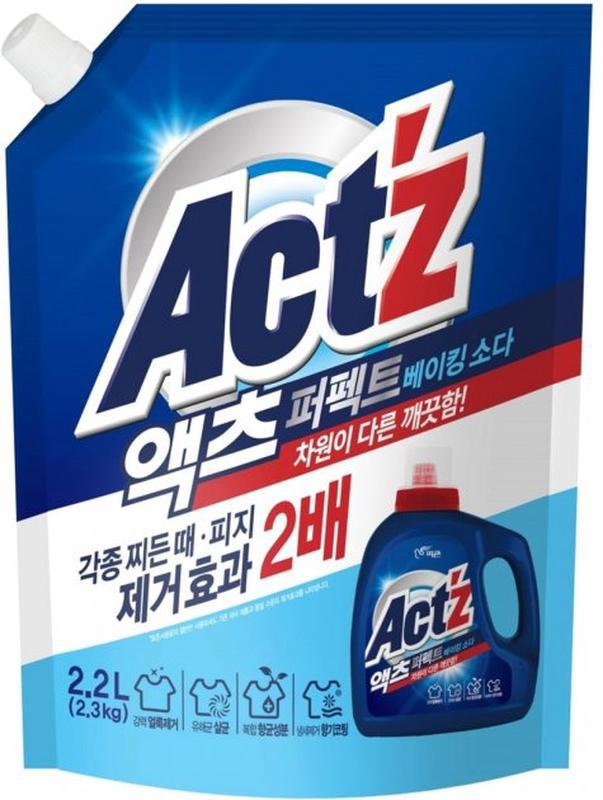 Корейський гель для прання універсальний pigeon act z baking s...