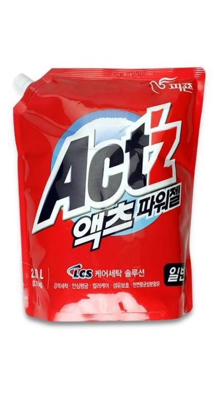 Корейський гель для прання універсальний pigeon act z power gel