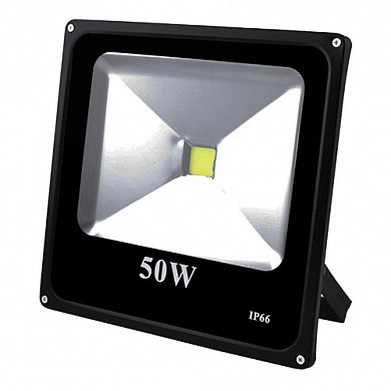 Прожектор светодиодный матричный 50W COB, IP66 (влагозащита), ...