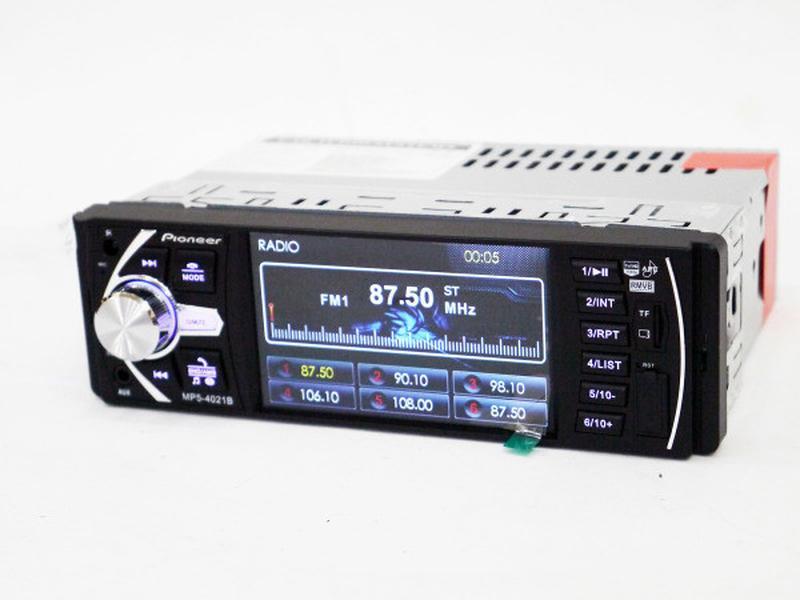 "Автомагнитола Pioneer 4021 ISO экран 4,1"", DIVX, MP3, USB, SD - Фото 2"