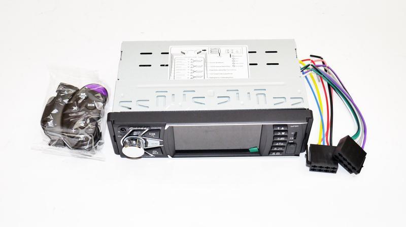Автомагнитола Pioneer 4038 ISO экран 4,1'' DIVX, MP3, USB, SD - Фото 5