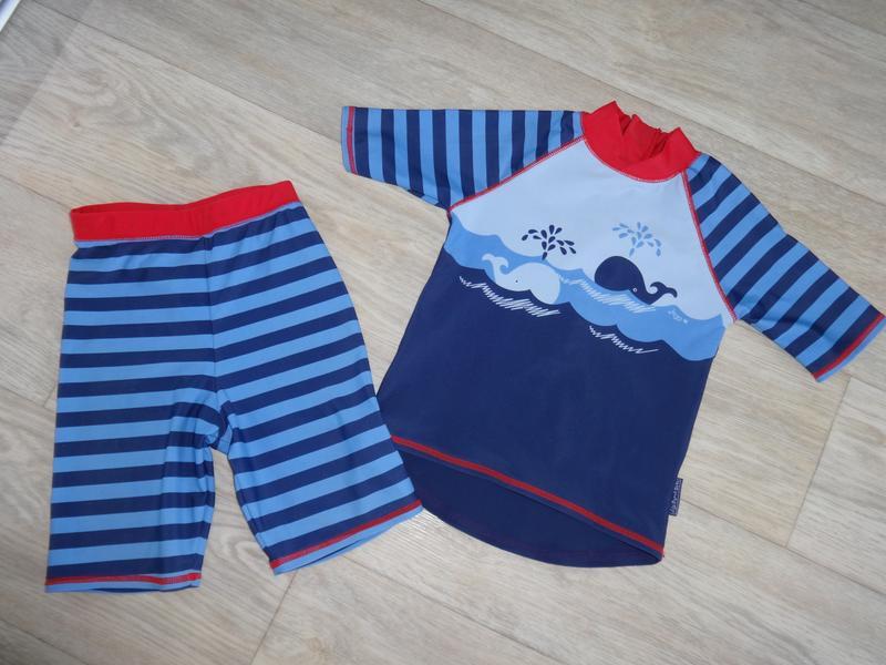 Пляжные шорты футболка солнцезащитный костюм на мальчика 2 3 9...