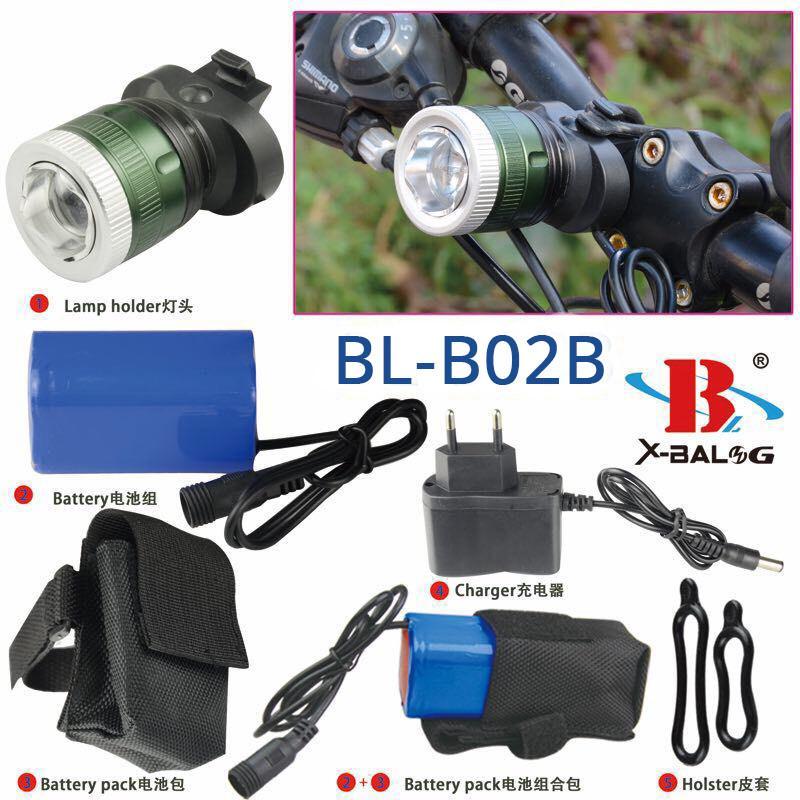 Велофонарь Bailong BL-B02B-T6