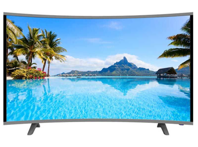 """LCD LED Телевизор JPE 32"""" Изогнутый HD экран T2, USB, HDMI, VGA - Фото 2"""