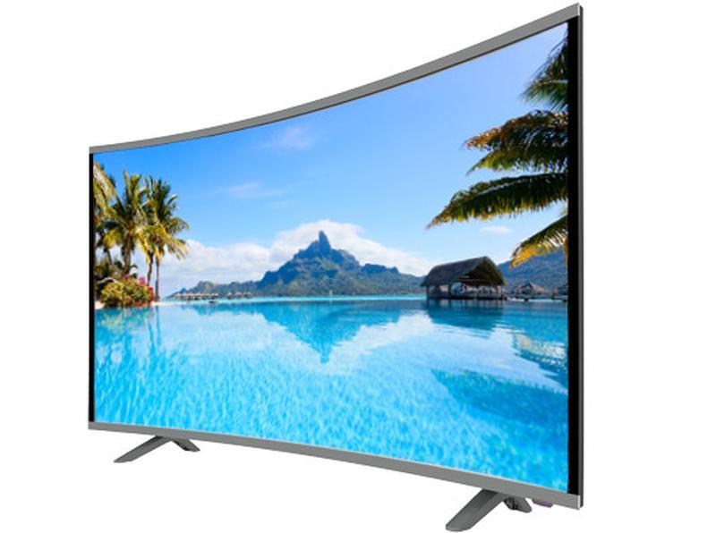 """LCD LED Телевизор JPE 32"""" Изогнутый HD экран T2, USB, HDMI, VGA - Фото 3"""