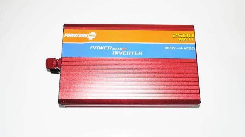 12V-220V 2500W Преобразователь инвертор с функцией плавного пуска