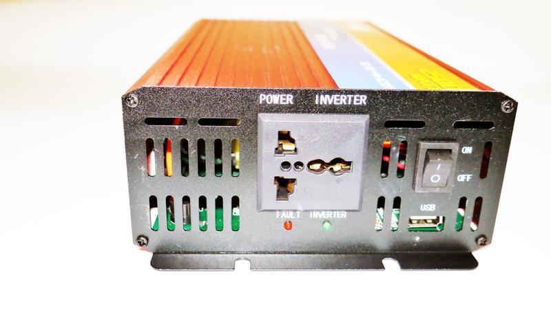 12V-220V 2500W Преобразователь инвертор с функцией плавного пуска - Фото 3