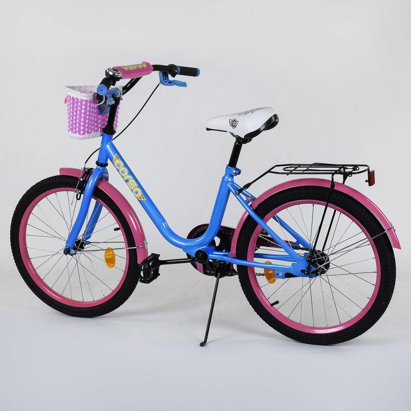 Двухколесный велосипед Corso 20 дюймов, 2047 - Фото 2