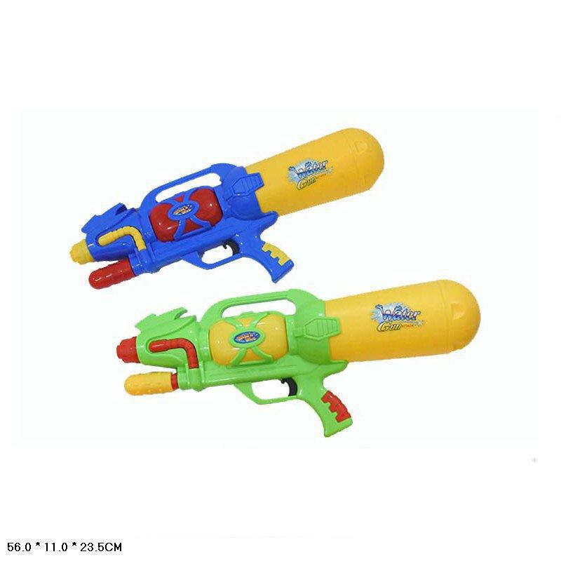 Водный пистолет с насосом, в п/е 56*23,5*11см /24-2/
