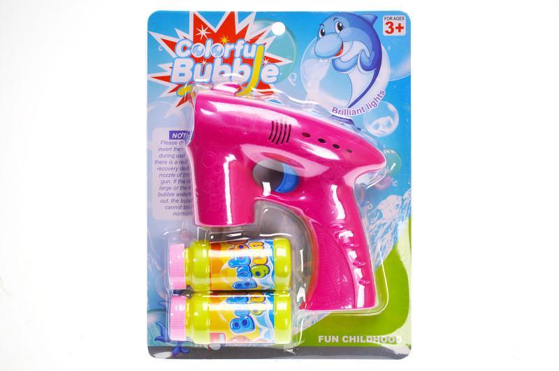 Пістолет з мильними бульбашками на батар. на блістері 26*25*5с...