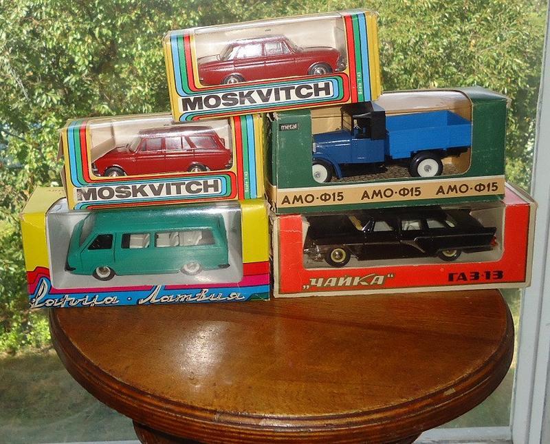 Коллекция масштабных моделей авто 1:43 (СССР)