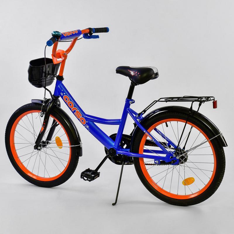 Двухколесный велосипед 20 дюймов CORSO G 20130 - Фото 2