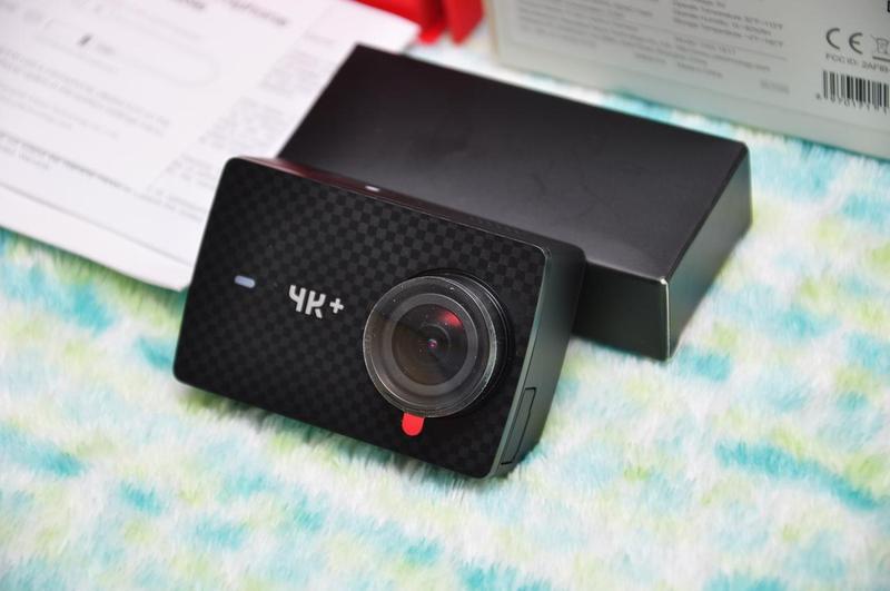 Экшн камера Xiaomi Yi 4K + Plus 60 Action Camera Международная - Фото 2