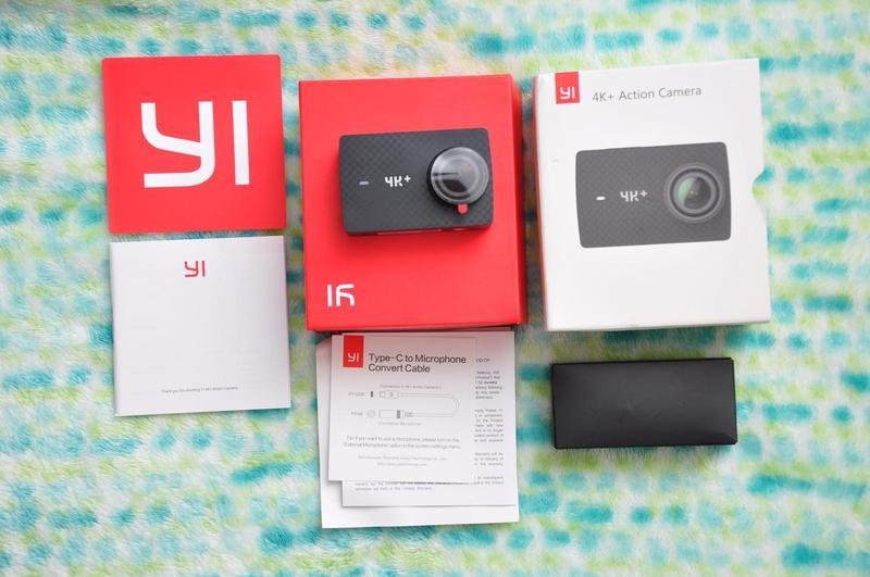 Экшн камера Xiaomi Yi 4K + Plus 60 Action Camera Международная - Фото 4