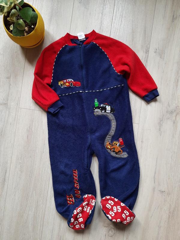 Кигуруми пижама ылисовая флис теплая disney 4-5 лет детская од...