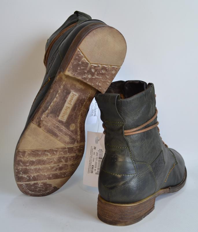 Josef seibel германия оригинал! модные комфортнейшие ботинки н... - Фото 4
