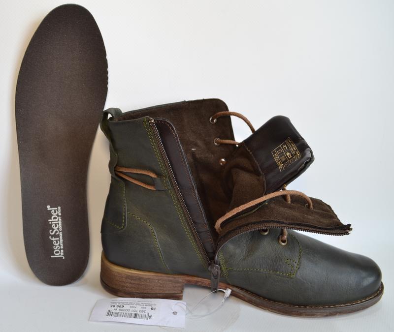 Josef seibel германия оригинал! модные комфортнейшие ботинки н... - Фото 9