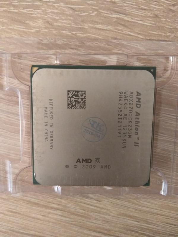 Процессор AMD Athlon II X2 270 3.4GHz Socket AM3 - Фото 2