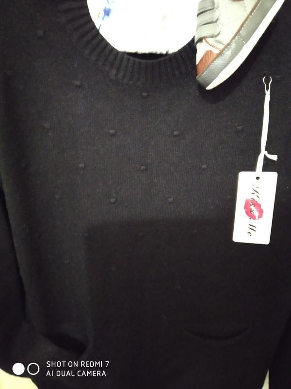 Ніжна кофтинка-пуловер - Фото 3