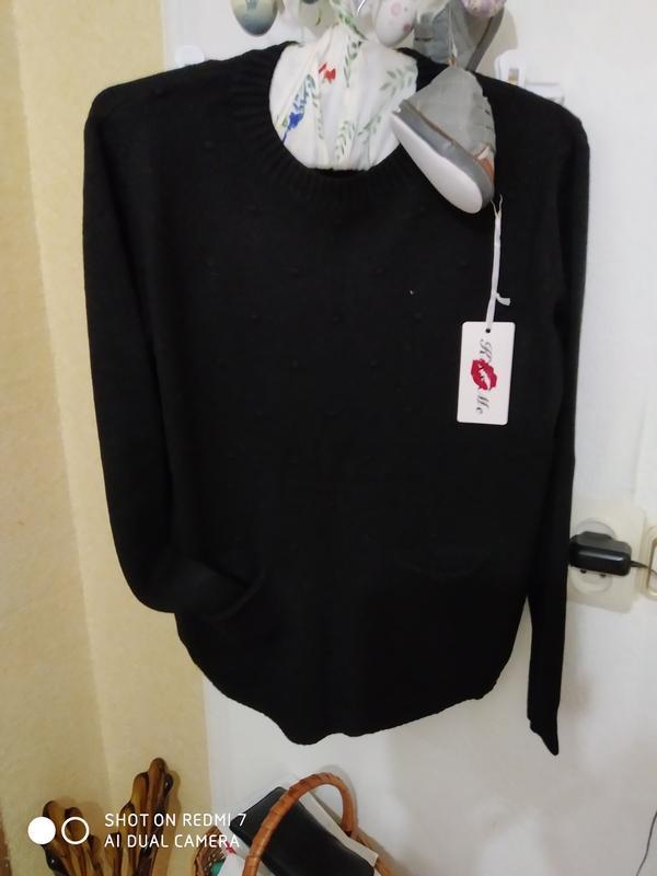 Ніжна кофтинка-пуловер - Фото 4