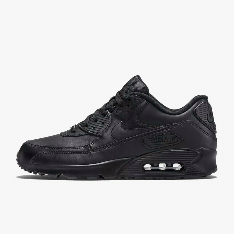 "Nike Air Max 90 Leather ""Black"" ""White"""