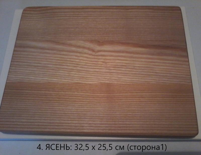 Доски разделочные прямоугольные из ясеня - Фото 4