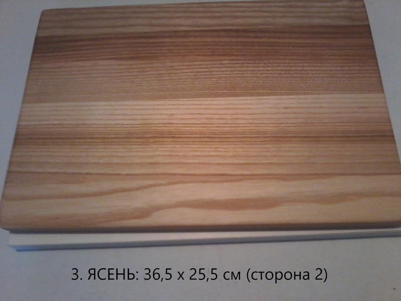Доски разделочные прямоугольные из ясеня - Фото 5