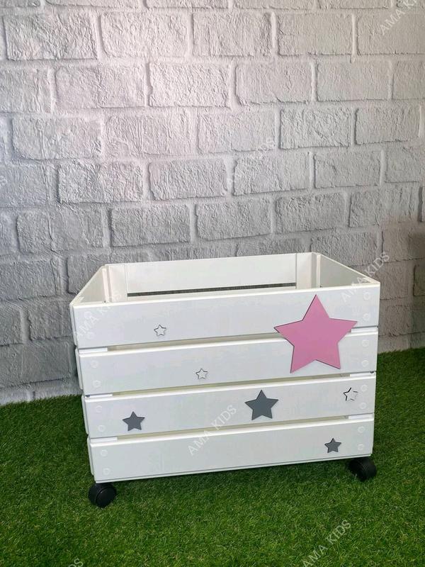 Ящик для игрушек, Ящик для іграшок