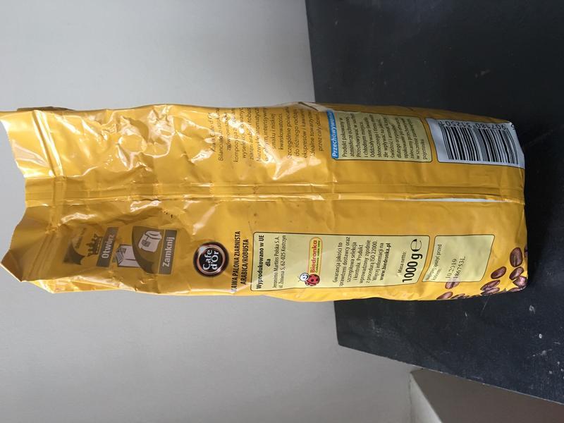 """Кофе в зернах d""""Or Bilanciato 1 кг. (Польша) - Фото 2"""
